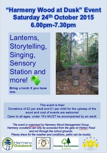 Harmeny Wood Event
